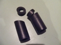 Bumper Outer Front Rubber Mounts Pr