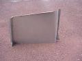 Cabrio Top Hinge Cover Pair Metal