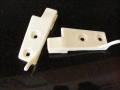 Rear Seat Back Return Clasp Catch Ivory Pr