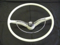 Steering Wheel Complete Ivory