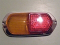 Tail lamp Lens Euro 58-59 Repro